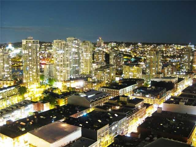 """Main Photo: 3007 939 HOMER Street in Vancouver: Downtown VW Condo for sale in """"THE PINNACLE"""" (Vancouver West)  : MLS®# V873938"""