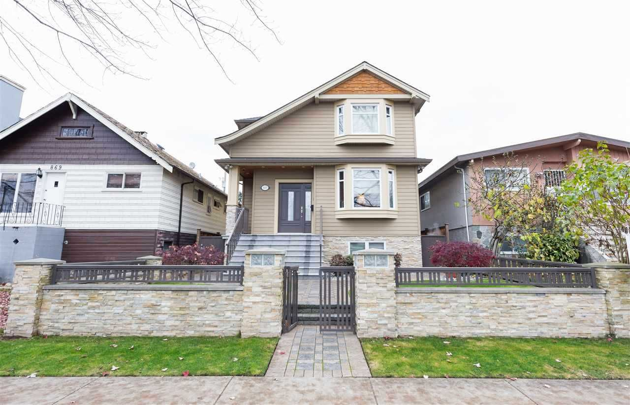 Main Photo: 865 W 60TH Avenue in Vancouver: Marpole House for sale (Vancouver West)  : MLS®# R2547733