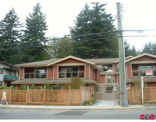 "Photo 1: 1 14921 THRIFT AV: White Rock Townhouse for sale in ""Nicole Place"" (South Surrey White Rock)  : MLS®# F2513931"