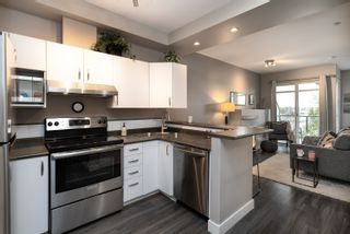 """Photo 7: 418 20200 56 Avenue in Langley: Langley City Condo for sale in """"The Bentley"""" : MLS®# R2612612"""
