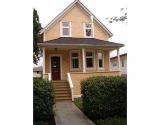 Main Photo: 303 E 17TH AV in Vancouver: Main House for sale (Vancouver East)  : MLS®# V541004