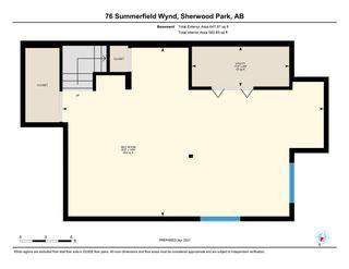 Photo 43: 76 SUMMERFIELD Wynd: Sherwood Park House for sale : MLS®# E4239845