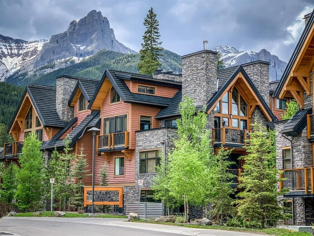 Main Photo: 7101 101G Stewart Creek Landing: Canmore Apartment for sale : MLS®# A1068381