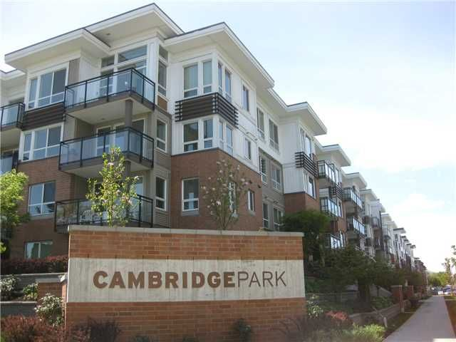 Main Photo: # 418 9500 ODLIN RD in Richmond: West Cambie Condo for sale : MLS®# V1061390