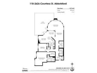 """Photo 36: 118 2626 COUNTESS Street in Abbotsford: Abbotsford West Condo for sale in """"The Wedgewood"""" : MLS®# R2578257"""