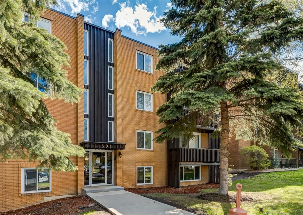 Main Photo: 404 507 57 Avenue SW in Calgary: Windsor Park Apartment for sale : MLS®# A1112895