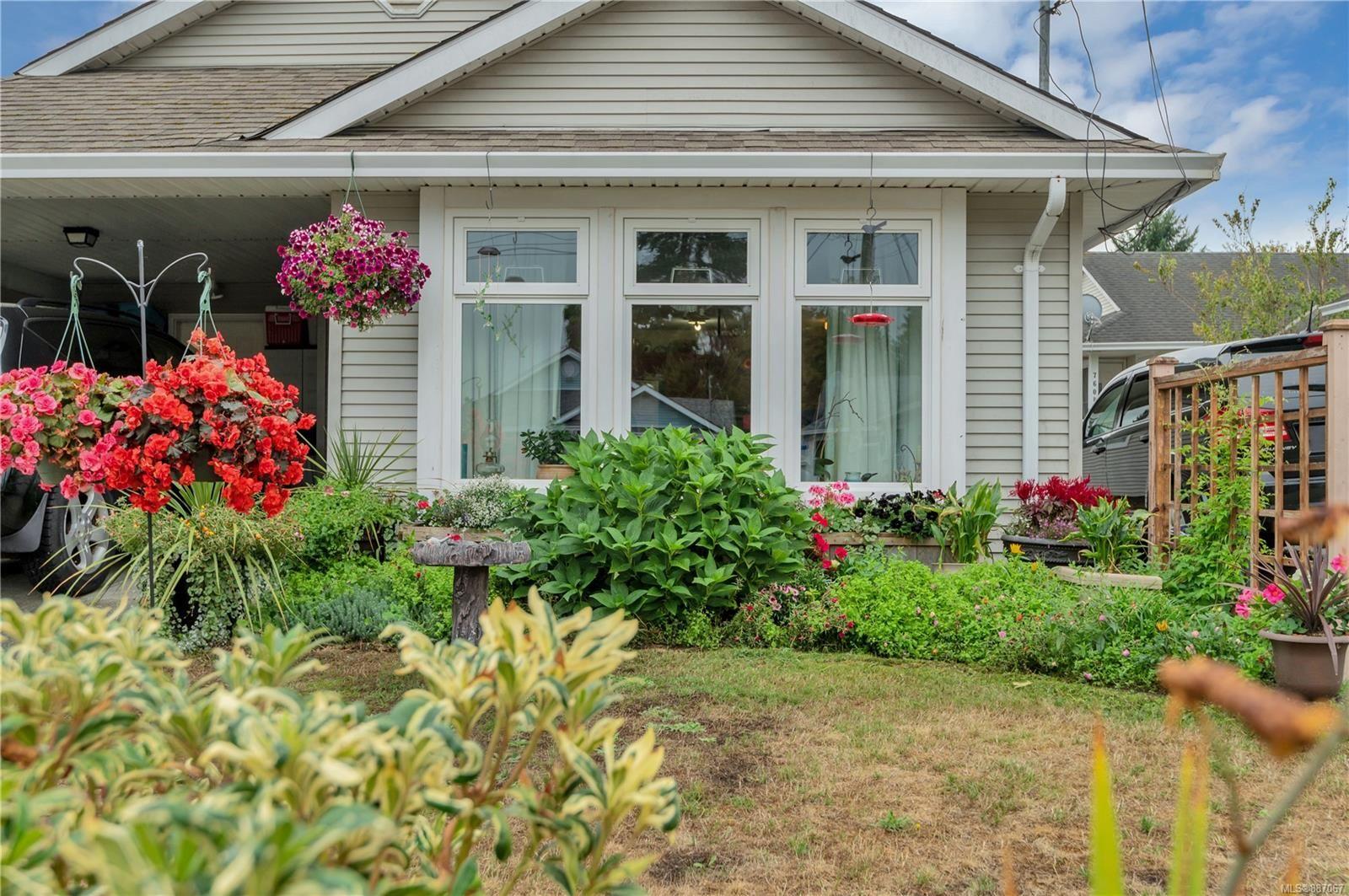 Main Photo: A 750 Park Pl in Courtenay: CV Courtenay City Half Duplex for sale (Comox Valley)  : MLS®# 887067