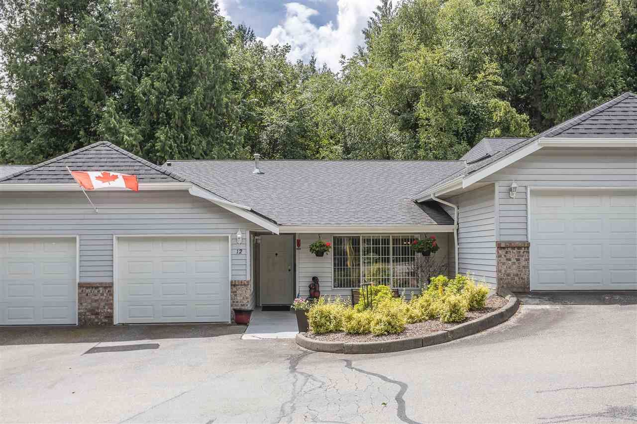 """Main Photo: 12 33020 MACLURE Road in Abbotsford: Central Abbotsford Townhouse for sale in """"Willband Creek Estates"""" : MLS®# R2593093"""