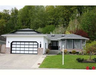 "Photo 1: 3001 CROSSLEY Drive in Abbotsford: Abbotsford West House for sale in ""ELLWOOD"" : MLS®# F2909892"