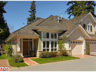 """Photo 1: 46 15055 20TH Avenue in Surrey: Sunnyside Park Surrey Townhouse for sale in """"HIGHGROVE"""" (South Surrey White Rock)  : MLS®# F1110522"""