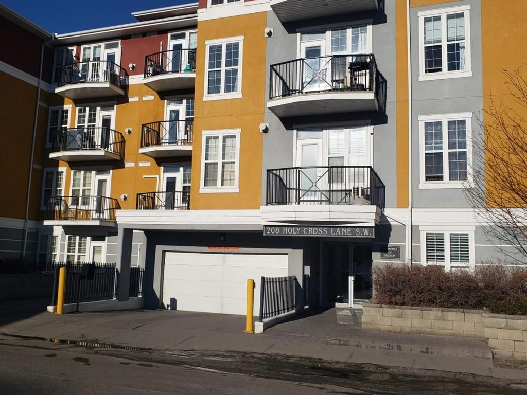 Main Photo: 215 208 Holy Cross SW in Calgary: Mission Apartment for sale : MLS®# A1123191