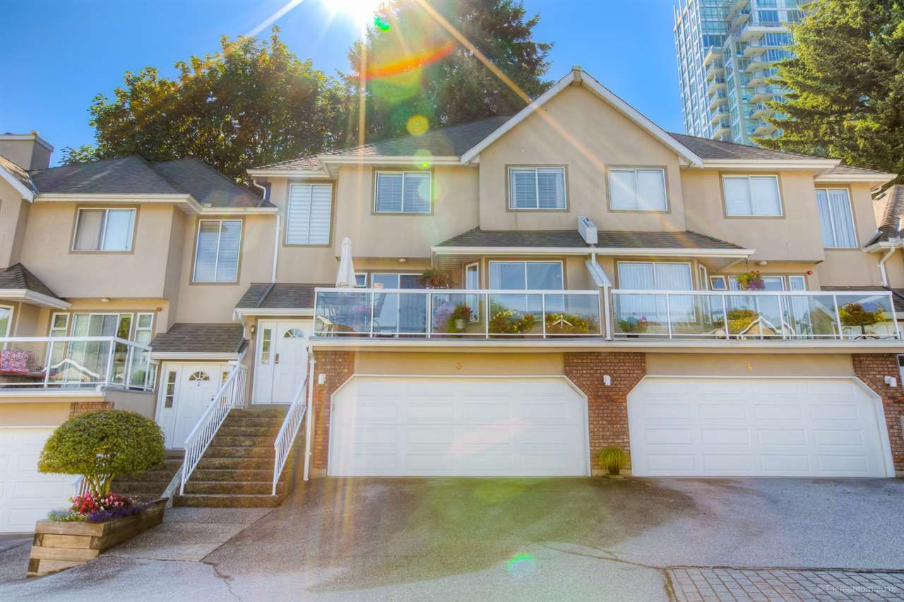 Main Photo: 3 72 JAMIESON Court in New Westminster: Fraserview NW Townhouse for sale : MLS®# R2491627