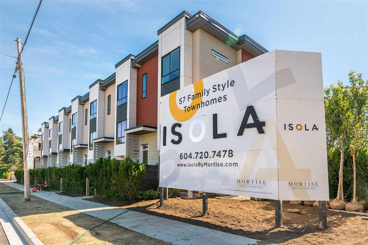 """Main Photo: 55 1670 160 Street in Surrey: King George Corridor Townhouse for sale in """"Isola"""" (South Surrey White Rock)  : MLS®# R2480378"""