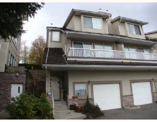 """Photo 1: 3457 AMBERLY Place in Vancouver: Champlain Heights Townhouse for sale in """"TIFFANY RIDGE"""" (Vancouver East)  : MLS®# V703168"""