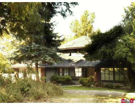 """Main Photo: 17481 28B Avenue in Surrey: Grandview Surrey House for sale in """"Country Woods"""" (South Surrey White Rock)  : MLS®# F2720533"""