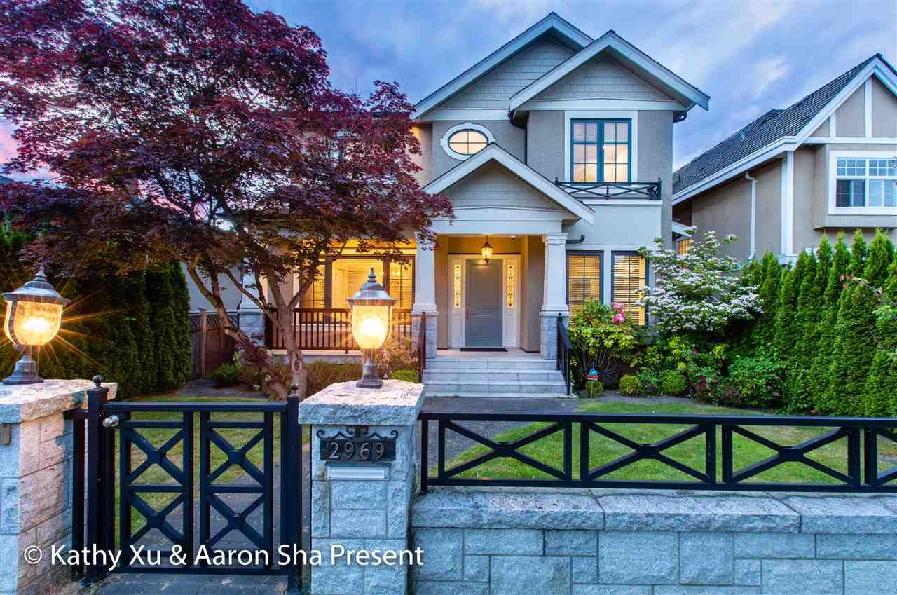 Main Photo: 2969 W 22ND Avenue in Vancouver: Arbutus House for sale (Vancouver West)  : MLS®# R2372865