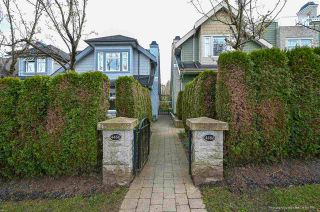 Main Photo: 4466 W 8TH Avenue in Vancouver: Point Grey Townhouse for sale (Vancouver West)  : MLS®# R2562979