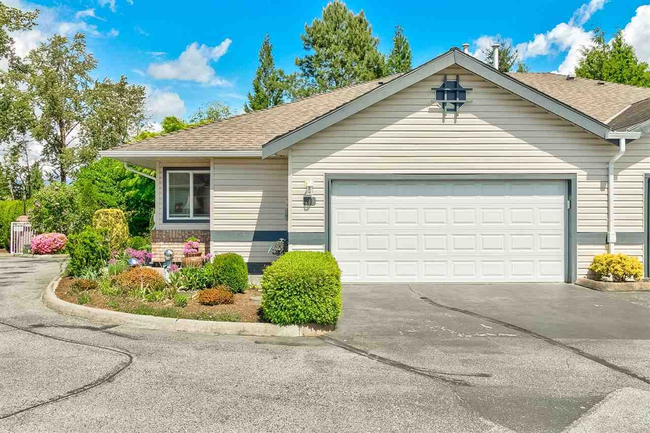 """Main Photo: 50 5550 LANGLEY Bypass in Langley: Langley City Townhouse for sale in """"Riverwynde"""" : MLS®# R2582599"""