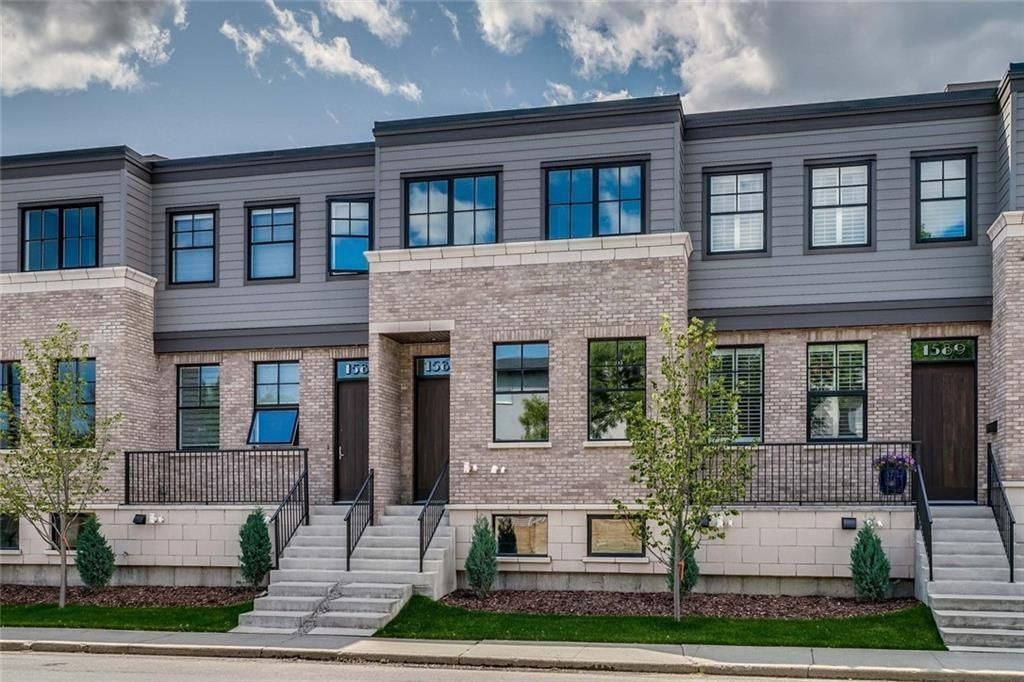 Main Photo: 1587 38 Avenue SW in Calgary: Altadore Row/Townhouse for sale : MLS®# A1020976