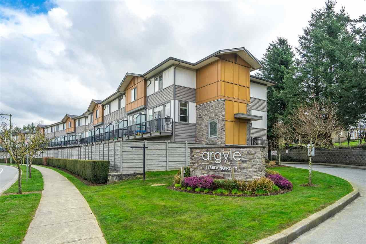 "Main Photo: 78 34248 KING Road in Abbotsford: Poplar Townhouse for sale in ""Argyle"" : MLS®# R2559781"