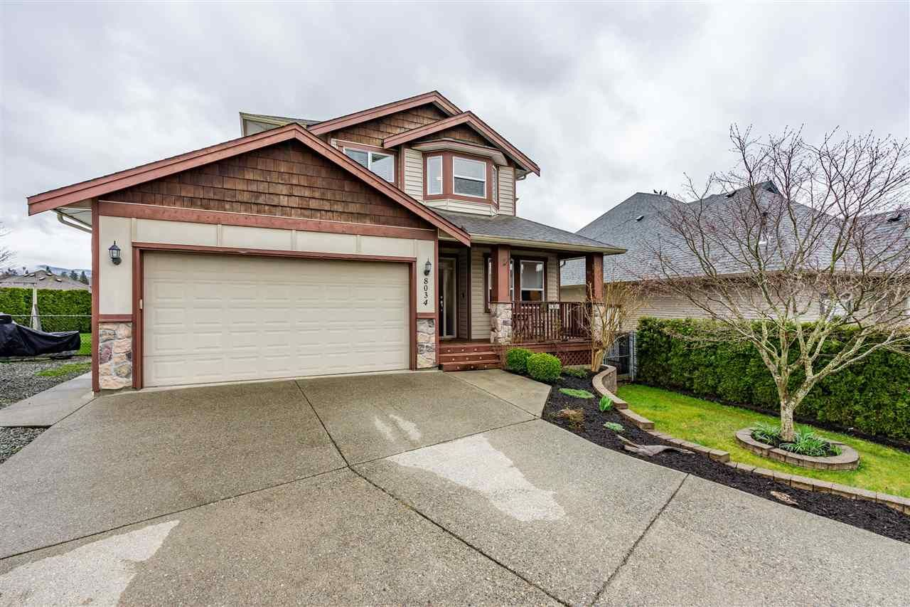 "Main Photo: 8034 LITTLE Terrace in Mission: Mission BC House for sale in ""COLLEGE HEIGHTS"" : MLS®# R2562487"