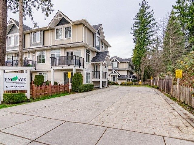 "Main Photo: 9 12775 63 Avenue in Surrey: Panorama Ridge Townhouse for sale in ""ENCLAVE"" : MLS®# R2560669"