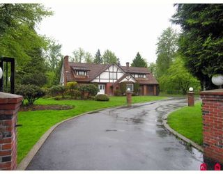 """Photo 1: 23050 76A Avenue in Langley: Fort Langley House for sale in """"FOREST KNOLLS"""" : MLS®# F2909694"""