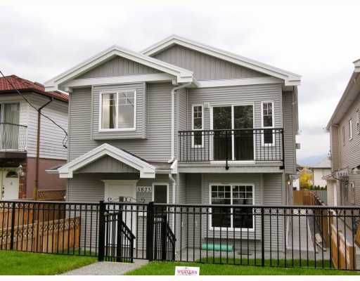 Main Photo: 5823 WOODSWORTH Street in Burnaby: Central BN 1/2 Duplex for sale (Burnaby North)  : MLS®# V772353