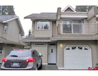 """Photo 1: 11 8289 121A Street in Surrey: Queen Mary Park Surrey Townhouse for sale in """"Kennedy Woods"""" : MLS®# F2808909"""
