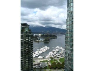 """Photo 2: 2605 1331 W GEORGIA Street in Vancouver: Coal Harbour Condo for sale in """"THE POINTE"""" (Vancouver West)  : MLS®# V891427"""