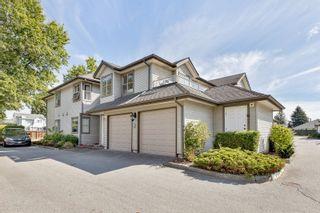 "Photo 1: 7 19160 119 Avenue in Pitt Meadows: Central Meadows Townhouse for sale in ""WINDSOR OAK"" : MLS®# R2616847"