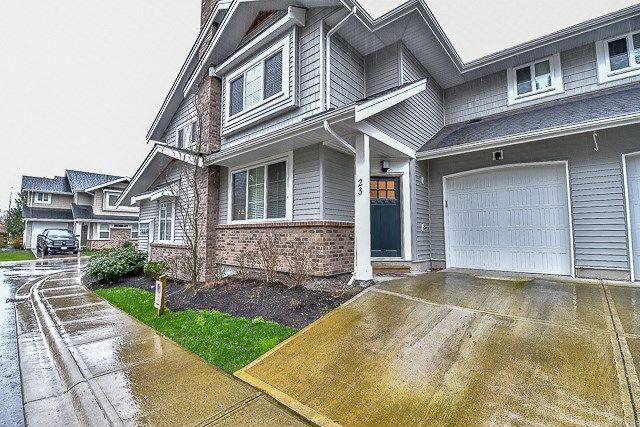 Main Photo: 23 12161 237 STREET in Maple Ridge: East Central Townhouse for sale : MLS®# R2043751
