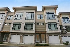 """Photo 1: 60 9989 E BARNSTON Drive in Surrey: Fraser Heights Townhouse for sale in """"Highcrest at Fraser Heights"""" (North Surrey)  : MLS®# R2227520"""