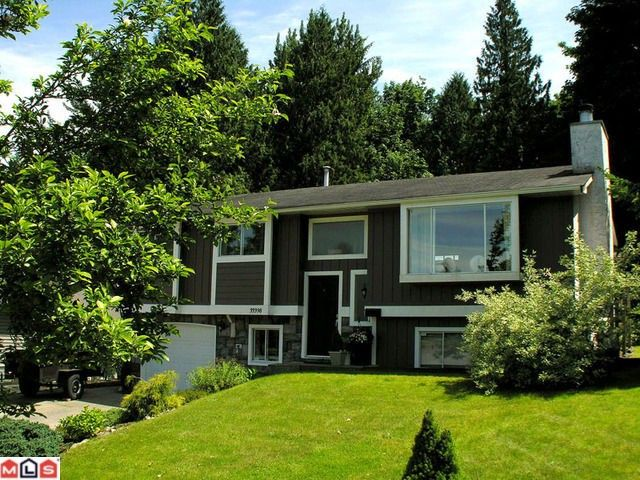 Main Photo: 33398 BABICH Place in Abbotsford: Central Abbotsford House for sale : MLS®# F1216229