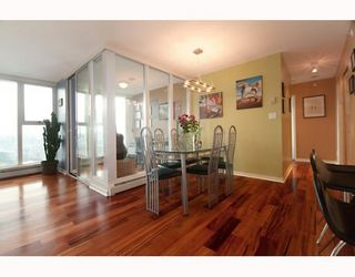 """Photo 3: 3105 1009 EXPO Boulevard in Vancouver: Downtown VW Condo  in """"LANDMARK 33"""" (Vancouver West)  : MLS®# V801794"""