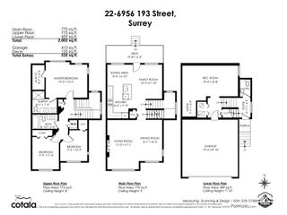 """Photo 40: 22 6956 193 Street in Surrey: Clayton Townhouse for sale in """"EDGE"""" (Cloverdale)  : MLS®# R2529563"""