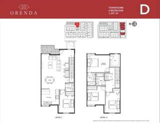"""Photo 2: 35 18850 72A Avenue in Surrey: Clayton Townhouse for sale in """"ORENDA"""" (Cloverdale)  : MLS®# R2596149"""