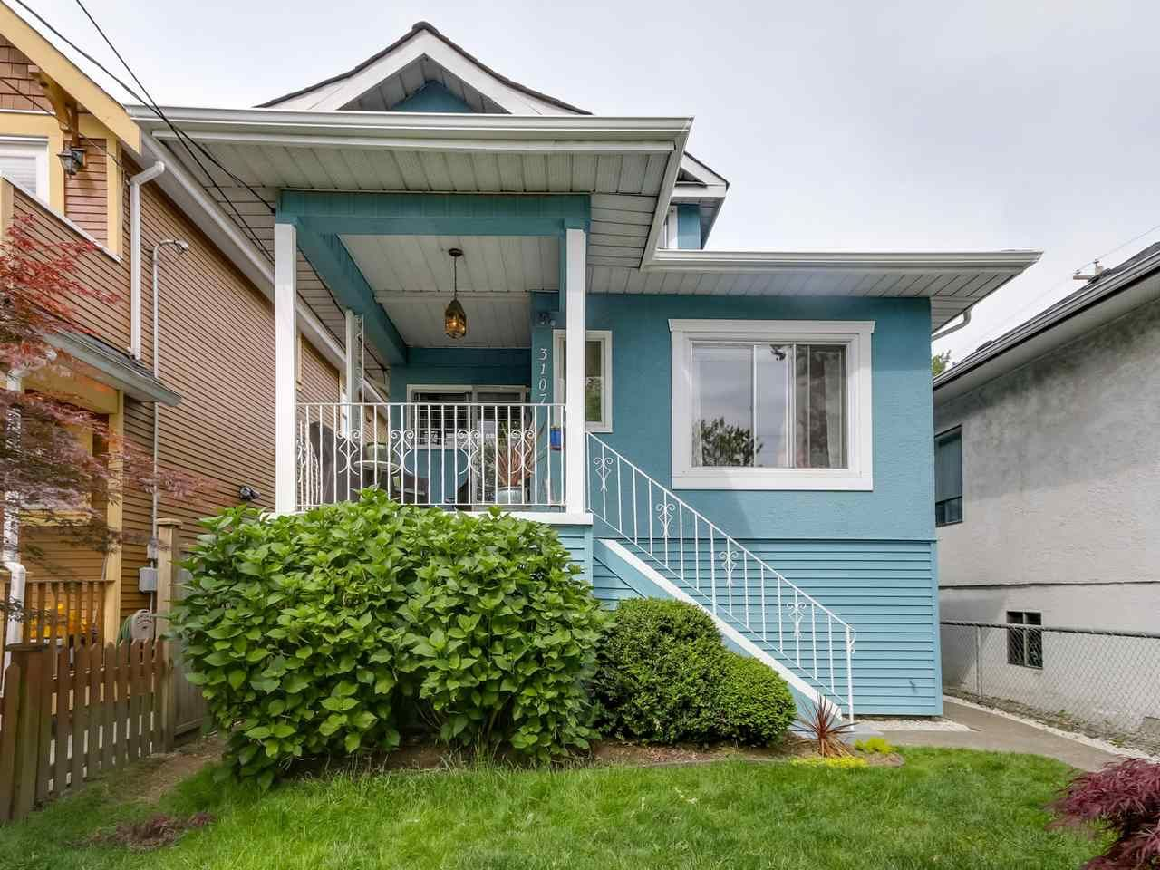Main Photo: 3107 WINDSOR STREET in : Mount Pleasant VE Residential Detached for sale : MLS®# R2072121