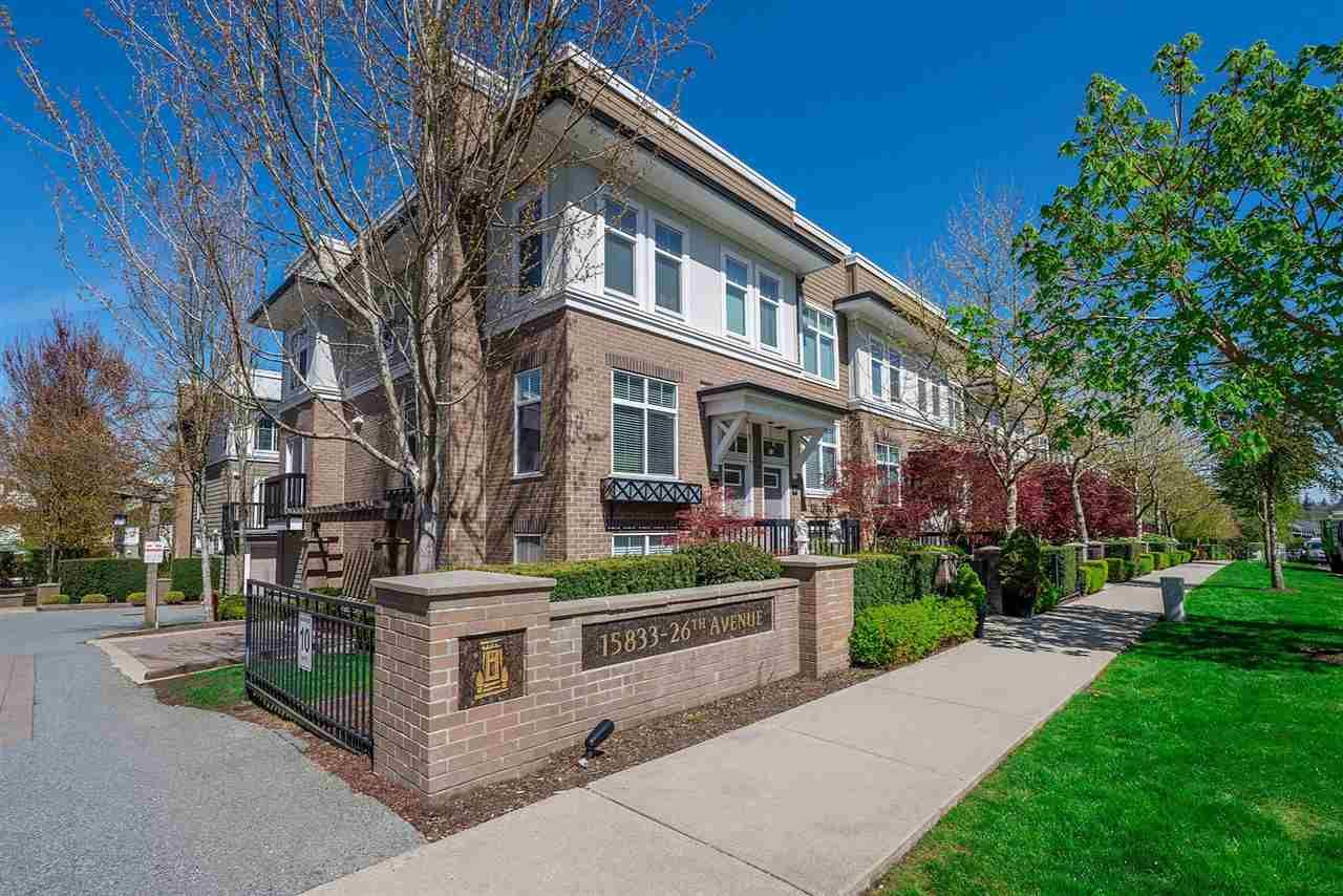 """Main Photo: 31 15833 26 Avenue in Surrey: Grandview Surrey Townhouse for sale in """"Brownstones"""" (South Surrey White Rock)  : MLS®# R2271800"""