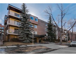 Photo 1: 208 835 19 Avenue SW in Calgary: Lower Mount Royal Condo for sale : MLS®# C4034765