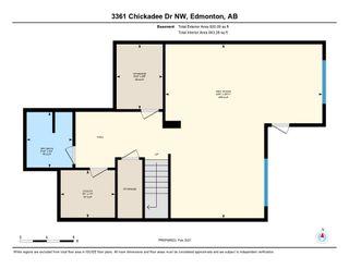 Photo 50: 3361 Chickadee Drive in Edmonton: Zone 59 House for sale : MLS®# E4228926