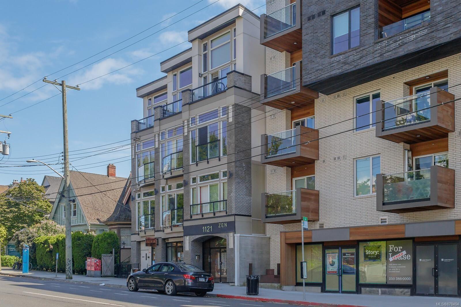 Main Photo: 403 1121 Fort St in : Vi Downtown Condo for sale (Victoria)  : MLS®# 878404