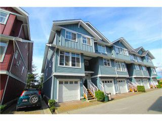 "Photo 1: 63 935 EWEN Avenue in New Westminster: Queensborough Townhouse for sale in ""COOPERS LANDING"" : MLS®# V1114089"