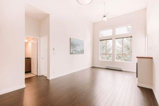 """Photo 1: 407 225 FRANCIS Way in New Westminster: Fraserview NW Condo for sale in """"THE WHITTAKER"""" : MLS®# R2621652"""