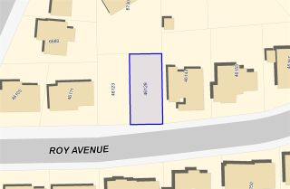 "Photo 1: 46129 ROY Avenue in Chilliwack: Sardis East Vedder Rd Land for sale in ""Sardis Park"" (Sardis)  : MLS®# R2534186"
