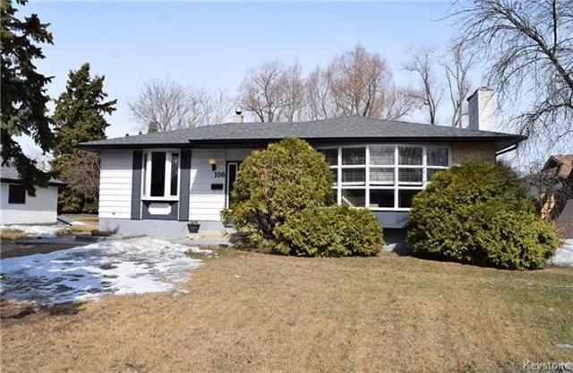 Main Photo: 106 Tamarac Bay in Winnipeg: Southdale Residential for sale (2H)  : MLS®# 1808868
