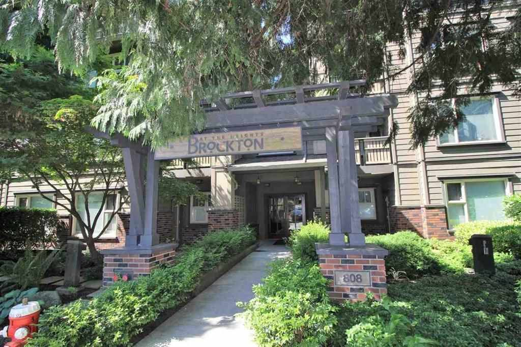"""Main Photo: 401 808 SANGSTER Place in New Westminster: The Heights NW Condo for sale in """"THE BROCTON"""" : MLS®# R2215829"""