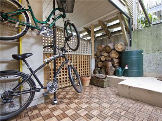 Photo 13: 4 1040 W 7TH Avenue in Vancouver: Fairview VW Townhouse for sale (Vancouver West)  : MLS®# V1047822
