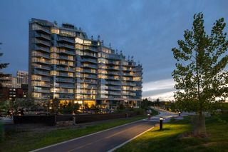 Photo 2: 108 738 1 Avenue SW in Calgary: Eau Claire Apartment for sale : MLS®# A1072462