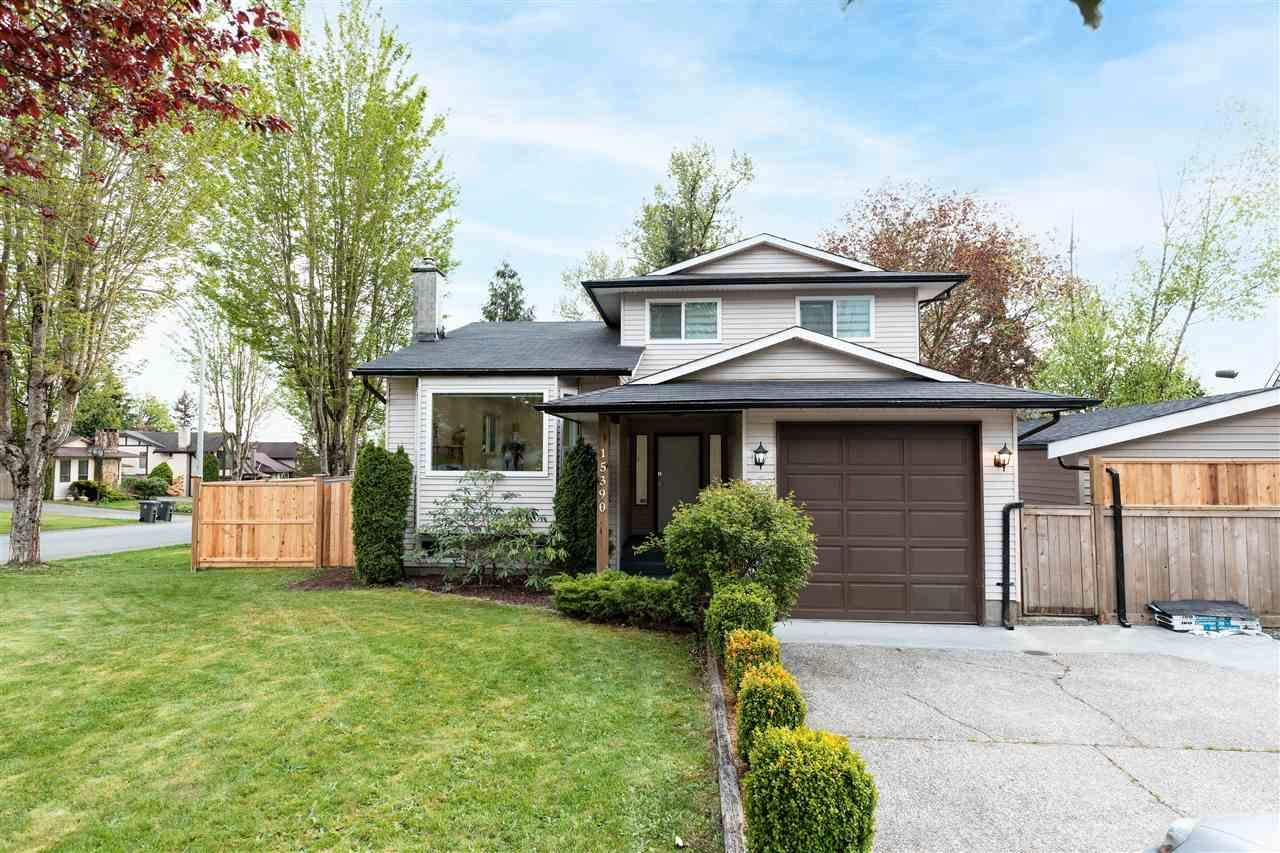 Main Photo: 15390 85 Avenue in Surrey: Fleetwood Tynehead House for sale : MLS®# R2573940